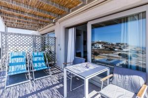 A balcony or terrace at Paralos Lodging