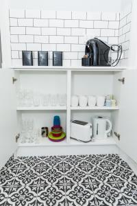 Vannituba majutusasutuses Lewis Street Apartments by Kirsten Serviced Accommodation