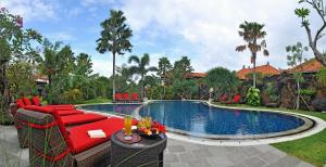 The swimming pool at or near Bali Aroma Exclusive Villas
