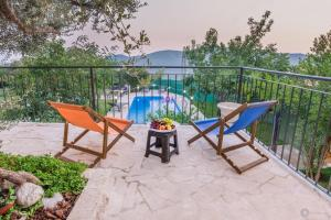 A view of the pool at Villa Marco Polo or nearby