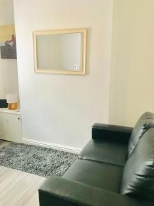A seating area at Liverpool house Walton Village