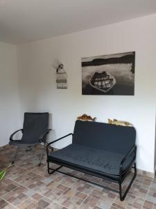 A seating area at Casa Arina