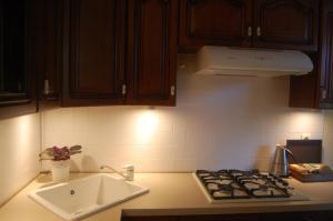 A kitchen or kitchenette at Ogarna 88