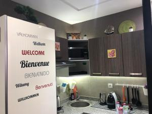 A kitchen or kitchenette at Lina Maarif Studio