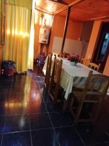 Un restaurant u otro lugar para comer en CABAÑAS LOS JESUITAS