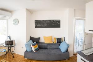 Posezení v ubytování Apartment by Jassi
