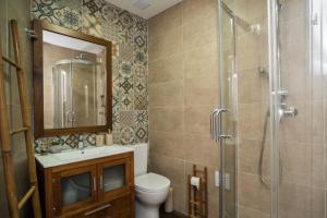 A bathroom at Apartamento do Castelo