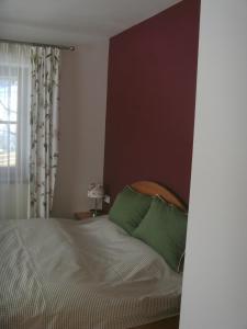 Posteľ alebo postele v izbe v ubytovaní Ferienwohnung Da Rugna