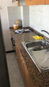Küche/Küchenzeile in der Unterkunft Apartamentos Alberto S.L.