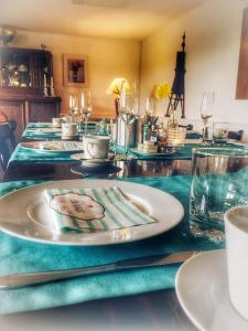 Ein Restaurant oder anderes Speiselokal in der Unterkunft Haus an der Südsee