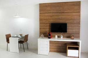 A television and/or entertainment centre at BBH Boutique House