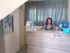 The lobby or reception area at Fiore Di Mare Studios