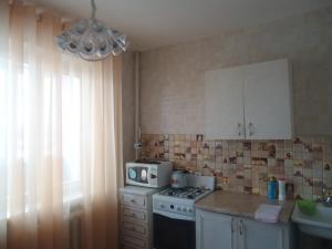 Кухня или мини-кухня в Квартира у Ледового Дворца