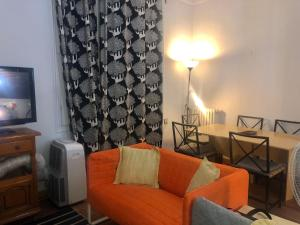 Гостиная зона в Apartment 4 Days Bcn