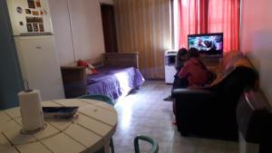 Un lugar para sentarse en Hospedate en departamento en Ciudad de Mendoza