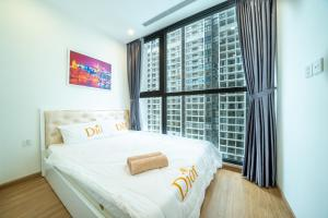 Rosy Home Luxury 1BR Vinhomes Skylake