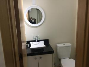 A bathroom at Residencial PIAGET (Torre Bruner)