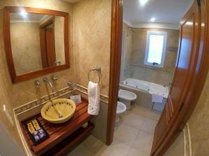 A bathroom at Haras del Bosque