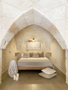 Krevet ili kreveti u jedinici u objektu Suite Fasano