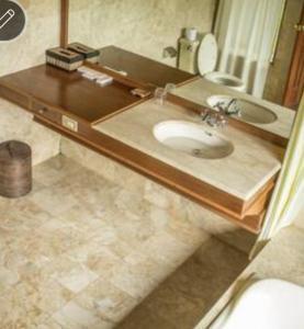 A bathroom at Wanagiri Eco Villa