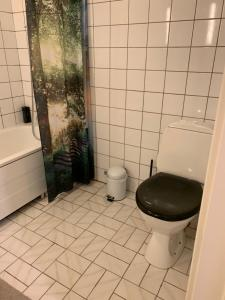 A bathroom at Cozy & private room in the middle of Lofoten