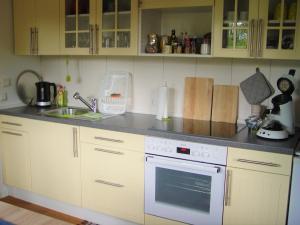 A kitchen or kitchenette at Apartment Zettler