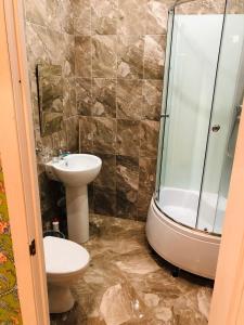 Ванная комната в Apart Piter
