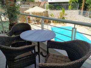 Μπαλκόνι ή βεράντα στο Kassandra Villa