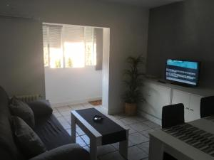 A television and/or entertainment center at Europa Mugica