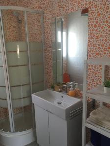 A bathroom at Europa Mugica