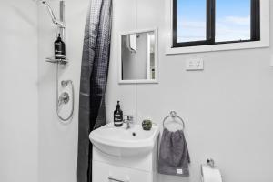 A bathroom at Azaltie