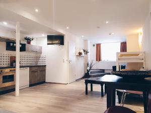 Una cocina o zona de cocina en Ford Apartment