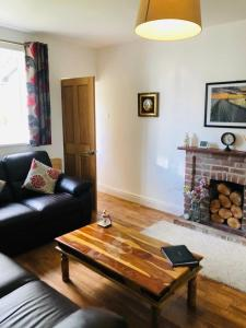 A seating area at The Lodge, Hale Village