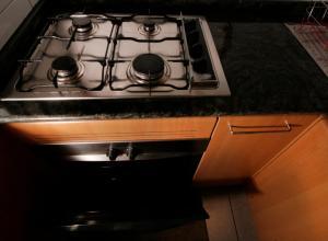 Una cocina o zona de cocina en Apartamento Living Montt