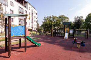 Children's play area at Laurel Apartments