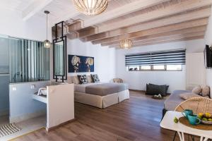 Χώρος καθιστικού στο Sarpidon Apartments