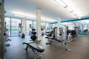 The fitness center and/or fitness facilities at Sonder — La Villita