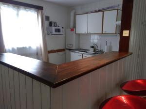 Una cocina o kitchenette en Departamento Céntrico en San Carlos de Bariloche