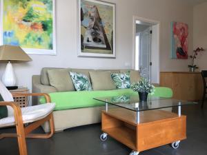 Zona de estar de Apartamento Playa Blanca Holiday