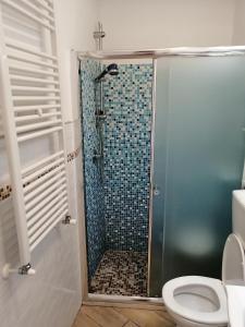 Phòng tắm tại Borgo Foce La Spezia