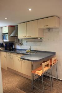 A kitchen or kitchenette at Casa Susanne