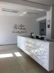 The lobby or reception area at Silver Springs Apartments
