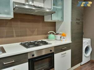 Köök või kööginurk majutusasutuses Il Fortino Flats