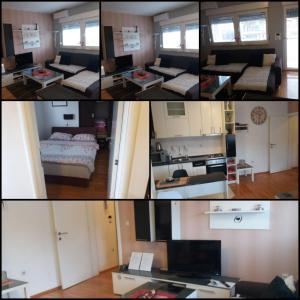 A kitchen or kitchenette at Apartman Matea