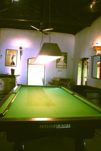 A pool table at Laguna Anjuna