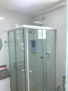 A bathroom at Apartamento Praia Dos Milionários