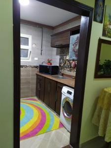 Küche/Küchenzeile in der Unterkunft Stanley Bridge Apartment