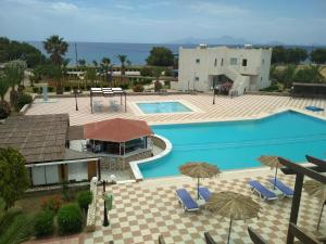 A view of the pool at Sweet Kalimera Apartments or nearby