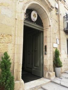 The facade or entrance of Palazzo Prince d'Orange