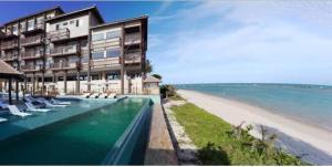 The swimming pool at or close to Resort Barra Bali